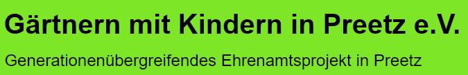 Gärtnern mit Kindern e.V. Logo