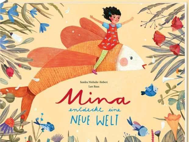 Cover Mina entdeckt eine neue Welt