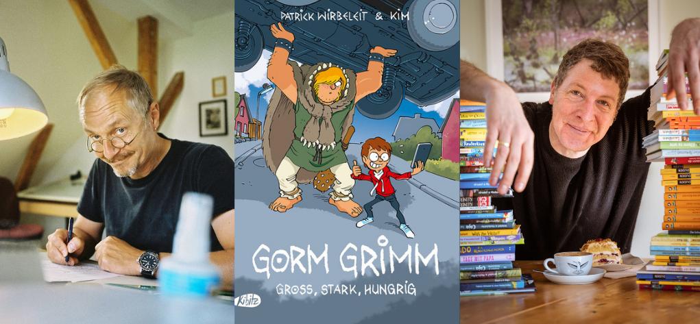KIM und Patrick Wirbeleit mit Gorm Grimm