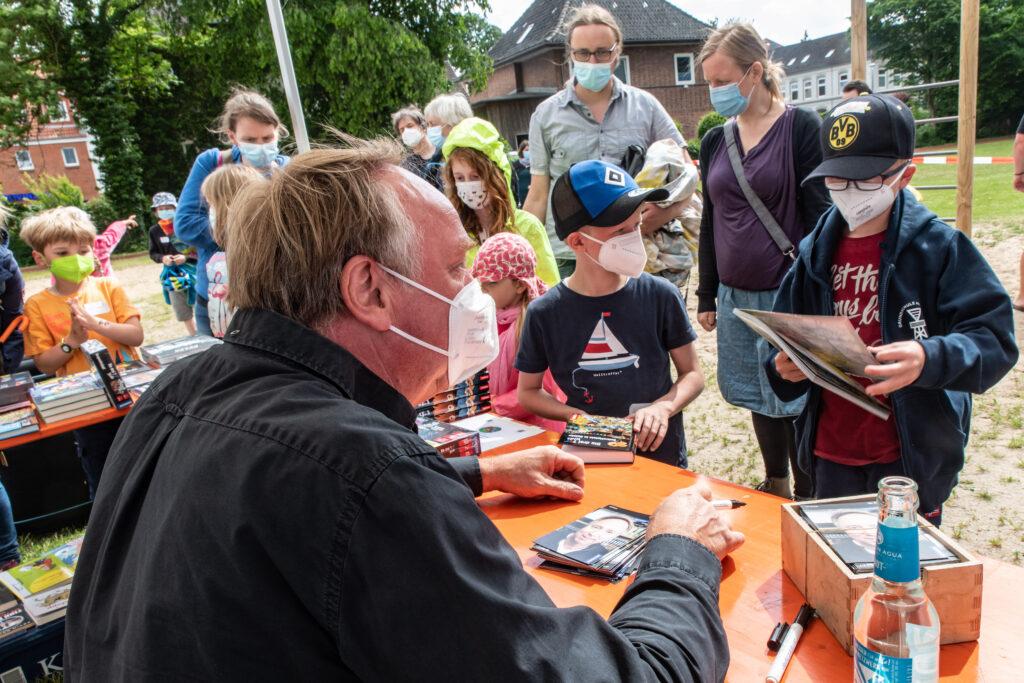 Ulf Blanck signiert