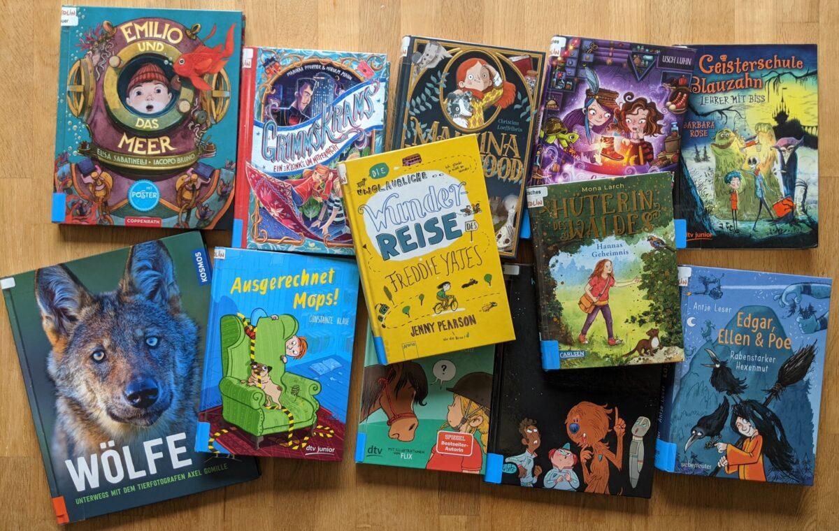 Auswahl Lesesprotten-Bücher 2021